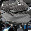 kryt ventilů levá strana z karbonu na BMW 1250 GS