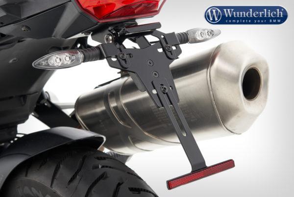 Držák SPZ se zadní kapotáží pro motorky BMW