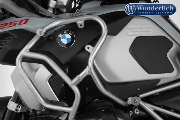 Rozšíření padacího rámu nádrže pro motorky BMW 1250 GS levá strana