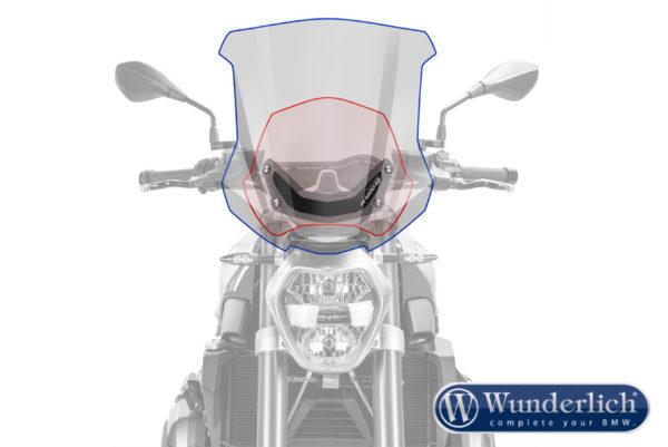 Čelní sklo Wunderlich MARATHON na motorku BMW R 1200 R LC