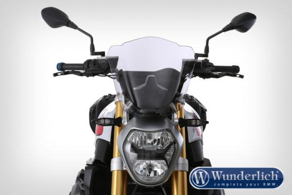 Čelní sklo Wunderlich MARATHON Sport na motorku BMW R 1200 R LC čiré