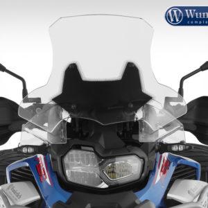 Čelní sklo Wunderlich MARATHON na motorku BMWE F 850 GS Adventure od 2019 čiré