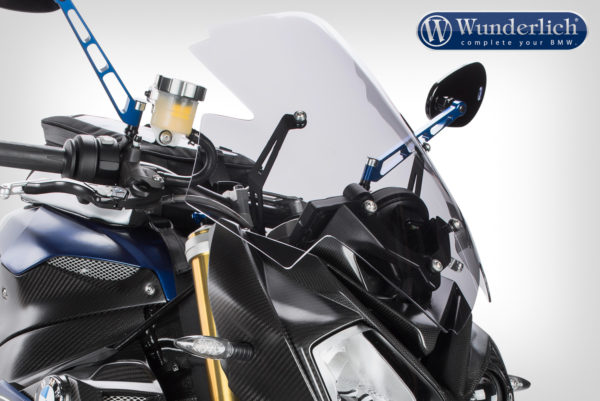 Čelní sklo Wunderlich MARATHON vysoké na motorky BMW S 1000 R od 2014 čiré