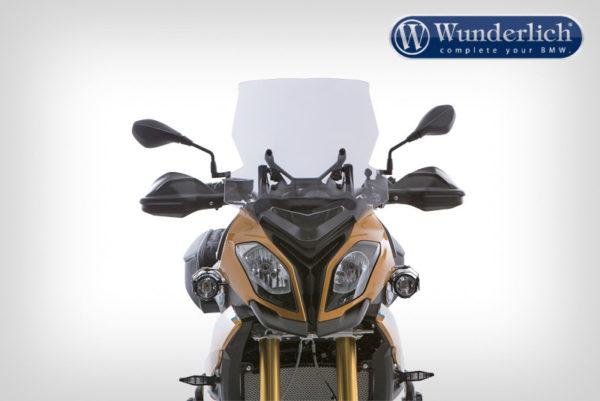 Cestovní čelní sklo Wunderlich MARATHON na motorky BMW S 1000 XR do 2019 čiré