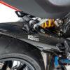 Blatník zadní z karbonu lesklý na motocykly DUCATI Diavel 1260 od 2019