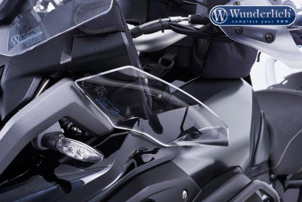 Deflektory ERGO na motorku BMW R 1200 GS LC od 2017+R 1250 GS levá strana