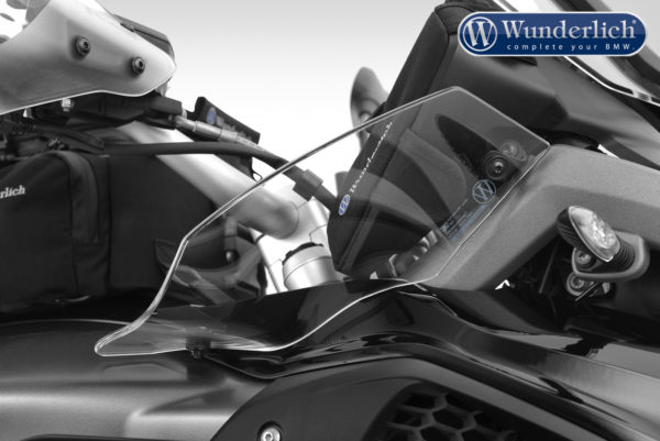 Deflektory ERGO na motorku BMW R 1200 GS LC od 2017+R 1250 GS pravá strana