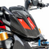 Kryt přístrojového panelu z karbonu lesklý na motocykly DUCATI Diavel 1260 od 2019