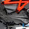 Kryt rozvodů (horizontální) z karbonu lesklý na motocykly DUCATI Diavel 1260 od 2019