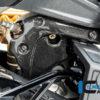 Kryt svodu výfuku z karbonu lesklý na motocykly DUCATI Diavel 1260 od 2019