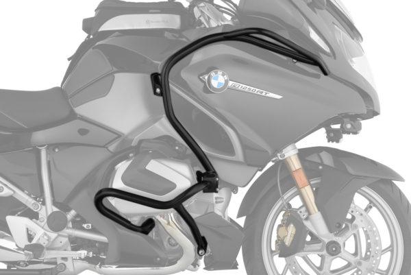 Padací rám Wunderlich pro ochranu motoru kapotáže a nádrže na motorku BMW R 1250 RT černý