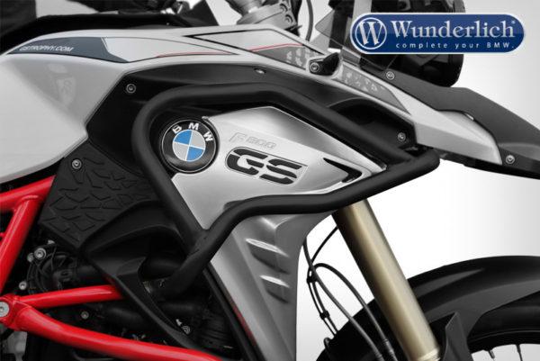 Padací rám nádrže Wunderlich ADVENTURE pro motorky BMW F 800 GS od 2017 černý