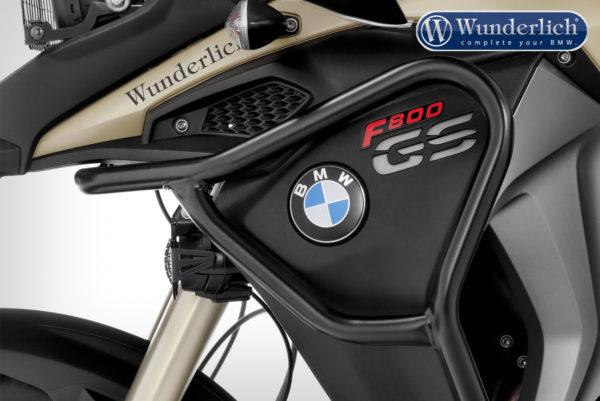 Padací rám nádrže Wunderlich ADVENTURE pro motorky F 800 GS Adventure od 2013 černý