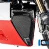 Spoiler motoru (kryt olejového chladiče) střední část z karbonu lesklý na motocykly DUCATI Diavel 1260 od 2019